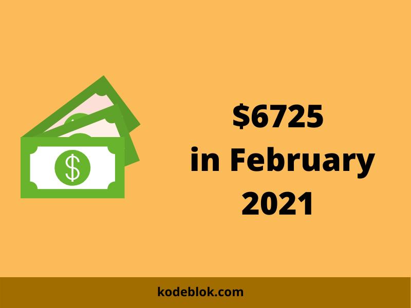 I Made $6725 in November 2020